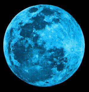 月がとっても青いから